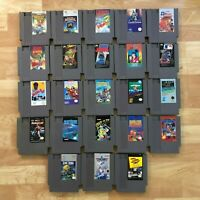 Lot of 23 Nintendo Entertainment System NES Games | Great Condition | Used | C05