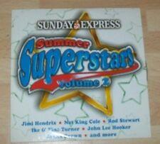 Music CD, Summer Superstars vol2, Hendrix, T Rex, Rod Stewart