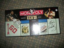 ELVIS PRESLEY MONOPOLY COLECTOR'S EDITION 2002 BOARD GAME