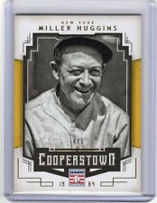 2015 15 MILLER HUGGINS PANINI COOPERSTOWN GOLD PARALLEL #ED 4/5 YANKEES