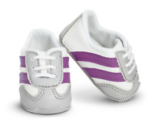 American Girl Stripe Sport Sneakers Shoes for 18 in Dolls NEW in Box