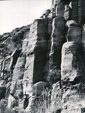 ARDÈCHE c. 1960 - 2 Photos  Basalte à Mézilhac  - L 121