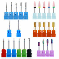 Ceramic Carbide Nail Drill Tool Electric Accessories Drill Bits Head Manicure