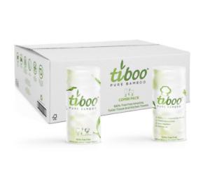NEW Combi Pk,40 3Ply Tiboo Bamboo Toilet Rolls+10 2Ply Tiboo Bamboo Kitchen Roll