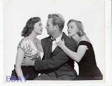 Jean Hagen Sterling Hayden Marilyn Monroe RARE Photo Asphalt Jungle