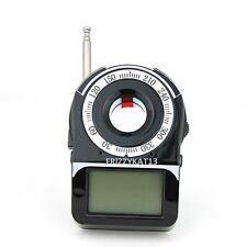 SPY BUG DETECTOR AND LASER CAMERA LENS FINDER GPS GSM WIFI G3 G4 SMS RF