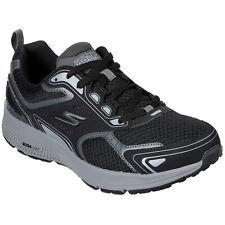 Skechers Go Run consisten Negro/Gris Entrenadores refrigerado por aire lavable 220034/BKGY