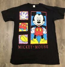 Vtg 80's Mickey Mouse Unlimited Big Print T Shirt One Size Fits All Made Usa