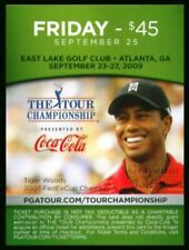 TIGER WOODS 2009 TOUR CHAMPIONSHIP FEDEX CUP PLAYOFF MASTERS