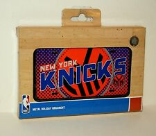 New York Knicks NBA Basketball Team Christmas License Plate Ornament New Box
