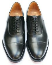 New & Boxed Church's 'Dubai' Oxford Black Shoes 9 UK 43 EU 10 US G - Wide