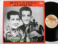 RUSTY & DOUG KERSHAW LOUISIANA MAN SUNDOWN ROCK & ROLL / COUNTRY LP MINT-