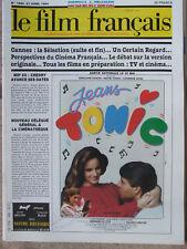 Le Film Français N°1990 (27 avril 1984) Jeans Tonic - Cannes-