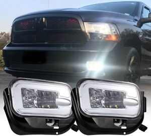 Newest Pickup truck fog light for 2009-2012 Dodge Ram 1500 2500 3500 2010-2016