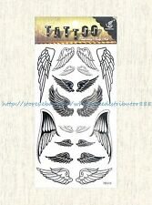 US SELLER, temporary tatoo angel wings temporary tattoo sticker