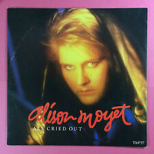 Alison Moyet - All Cried Out / Steal Me Blind, CBS TA-4757 Ex Condition 12""