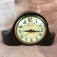 Vintage sessions electric clock model W mantel tabletop shelf USA made