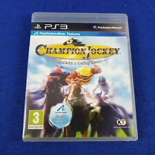 ps3 CHAMPION JOCKEY G1 Jockey & Gallop Racer PAL UK Version REGION FREE