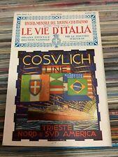 LE VIE D'ITALIA  - AGOSTO 1926 - TOURING CLUB ITALIANO