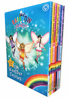 Rainbow Magic Weather Fairies Collection Daisy Meadows 7 Books Set 8 to 14 New