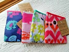 TARGET REUSABLE TOTE SHOPPING BAGS SET OF FOUR 13.5
