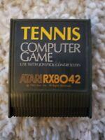 Tennis RX8042 Atari 400 800 Computer Video Game Cartridge - Untested