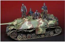1:35 German Panzer Division Tank Crew  World War 2, 4 Figures Resin Model Kit