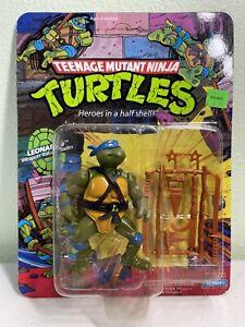 Vintage TMNT MOC 10 Back Leonardo Unpunched