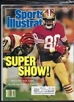Sports Illustrated,JERRY RICE SAN FRANCISCO 49ers COVER 01/30/1989