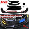 Front Bumper Lip Body Kit Spoiler For BMW E39 E46 E53 E60 E61 X5 E70 X6 E71 X1