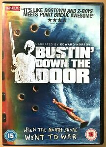 Bustin' Down the Door DVD 2008 Surfing Documentary Feature Film Movie Busting