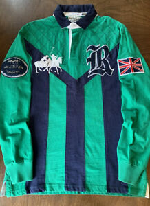 Polo Ralph Lauren Great Britain Rugby Long Sleeve Size XL Rare