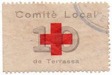 Sello Local Guerra Civil Terrassa -Cat. Edifil 1.  ORD:1088