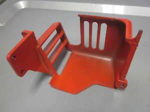 Vintage NOS Homelite OEM Chainsaw Muffler Shield Super 1050 63733 63733-2A #2