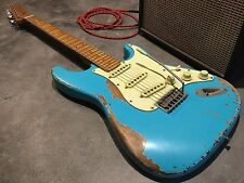 USA Relic Custom Strat Electric Guitar with Fender Tex Mex Stratocaster pickups