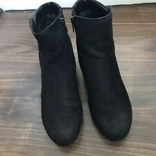 Gabor Stiefeletten Stiefel Gr 38,5 UK 5  1/2 schwarz