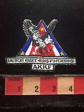 As-Is (BAD STITCHING!!!) AKKF American Karate Kung Fu Association Patch 76YJ