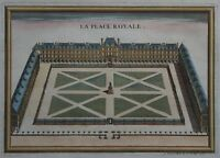 La Place Royale - Place des Vosges in Paris - Nicholas de Fer - 1716