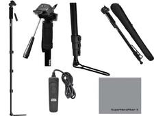 """72"""" SPORTS MONOPOD + FOOT STAND + REMOTE FOR CANON REBEL T3 T4 T5 T6 XS XT"""