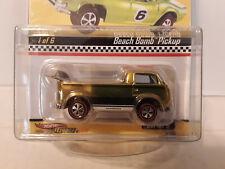 Hot Wheels RLC Neo-Classics Beach Bomb Pickup Green 7388/11000
