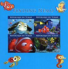 More details for chad disney stamps 2020 mnh finding nemo dory pixar cartoons 4v impf m/s