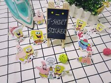 SpongeBob Patrick Star Squidward T-shirt Heat transfer sticker Iron On decal