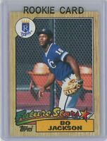 1987 Topps #170 BO JACKSON Rookie RC (Royals)