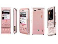 Refurbished Sony Ericsson W595 Pink Mobile Phone