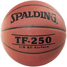 Spalding TF-250 PU Composite Leather Basketball [Size 7] + Free Aus Delivery