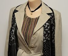 Ann Taylor Jacket Blazer Petite M Tank Top L Scarf Necklace Jewelry Outfit Lot
