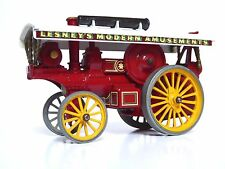 Matchbox Lesney Y9-1 1914 Fowler Showmans Engine (RARE BLACK BASEPLATE, VGC)