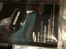 Samsung WEP460 Bluetooth Wireless Headset (Black) NEW