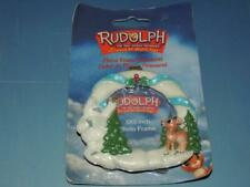 Enesco Rudolph Photo Frame Ornament 3 X 3 Abominable Snowman New
