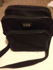 Large strong black adjustable strap travel bag